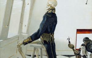 """Andrew Wyeth, """"Dr. Syn,"""" (1981)"""