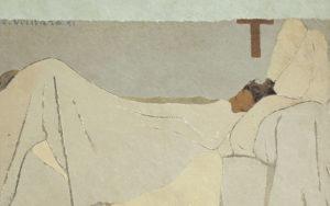 3 art wiki:Edouard Vuillard :in bed