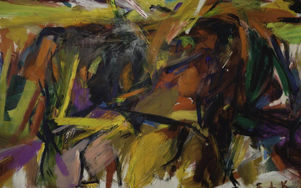 "Elaine de Kooning ""Bullfight"" (1959)"