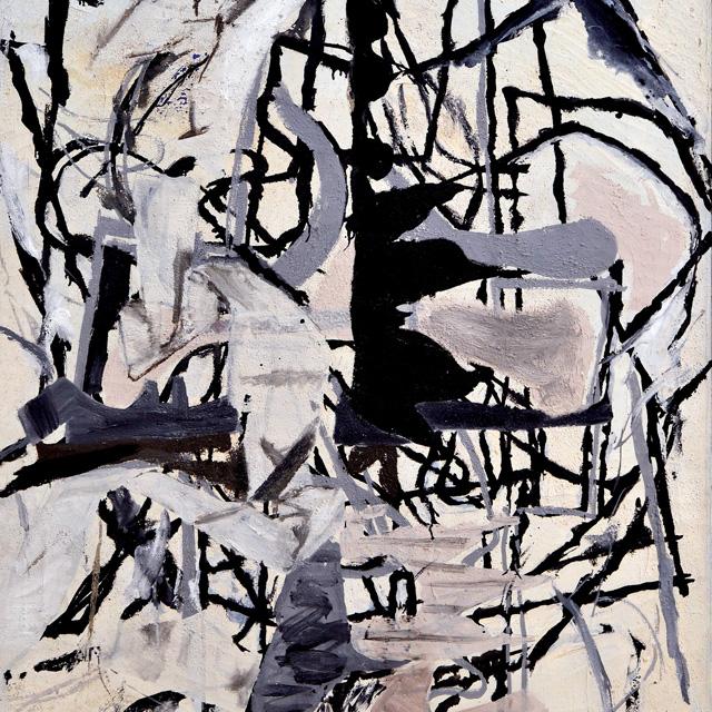 "Perle Fine ""Early Morning Garden"" (1957)"