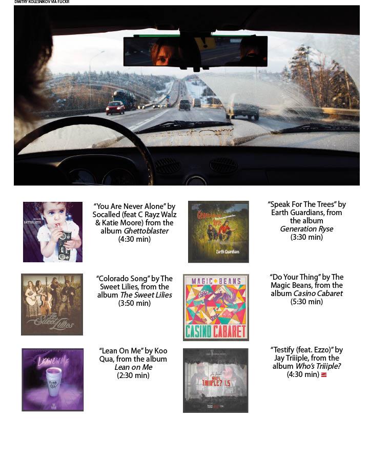 Commuter's playlist - Boulder Weekly